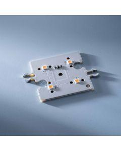 ConextMatrix Módulo Lineal 4 LED blanco cálido 118lm 4x4 cm 24V CRI 90 118lm 0.89W