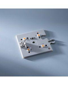 ConextMatrix Módulo de alimentación 4 LED blanco cálido 118lm 4x4 cm 24V CRI 90 118lm 0.89W