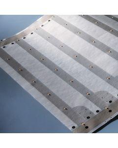 Paper-Flex Osram Tira LED max 24.85m blanco cálido 2700K 24V 1100lm/m 140 LEDs/m 24V 35cm (precio de una fila 5x35cm & 7 LEDs)