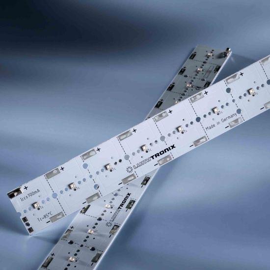 Módulo LED PowerBar V3 Verde aluminio 528nm 2760lm 700mA 12x Osram Oslon SSL LED 29cm (9518lm/m)