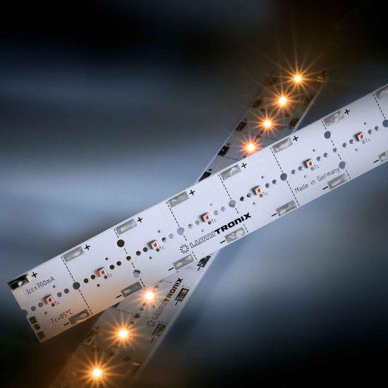 Módulo LED PowerBar V3 Aluminio amarillo 590nm 1640lm 700mA 12x Osram Oslon SSL LED 29cm (5656lm/m)