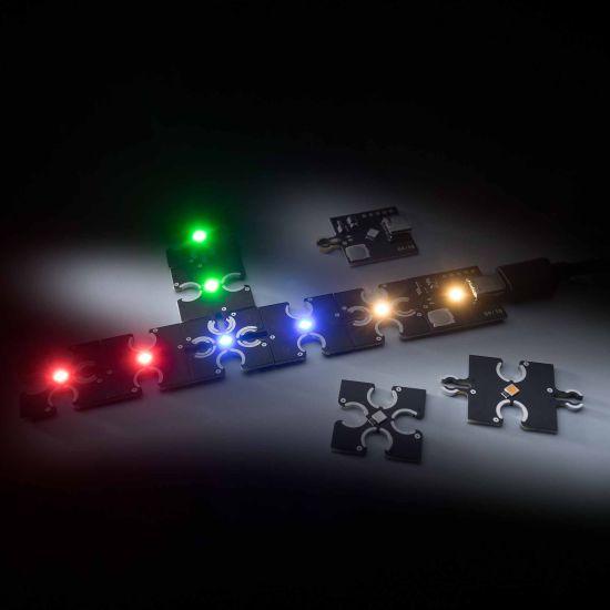 ConextPlay Módulo blanco cálido 1 LED 25x25cm 5V 10lm 01W