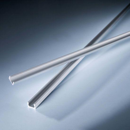 Perfil de aluminio AluSim plano para tiras LED flexibles Slimflex 102cm