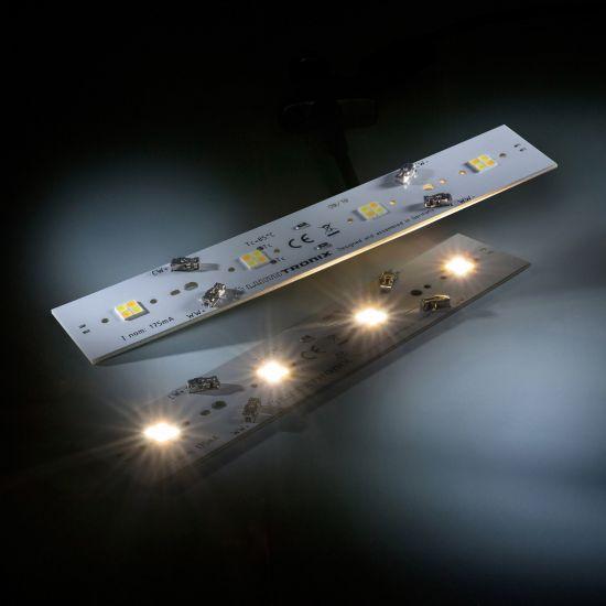 Daisy 16 Nichia LED Tira Blanco 2700-4000K 360+340lm 175mA 11.5V 14 LEDs 16cm módulo (hasta 4375lm/m y 25W/m)