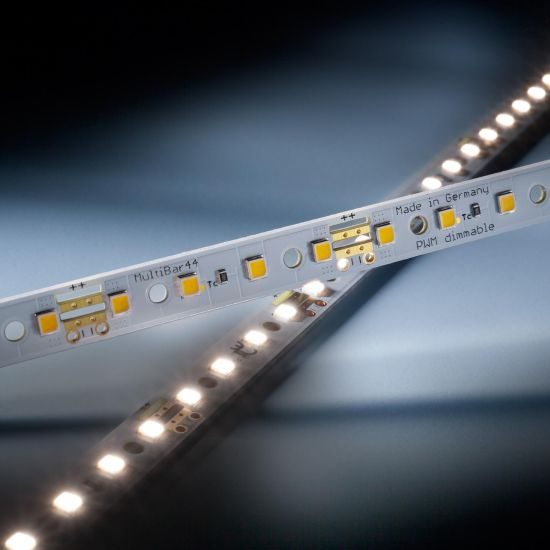 Multibar 44 Nichia Tira LED neutro blanco CRI90 4000K 763lm 24V 44 LED 50cm barra (1526lm/m 12.94W/m)