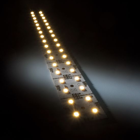 Nichia LED Módulo de luz de fondo Matrix Mini 9 segmentos (9x1) 36 LED 24V Blanco 2700K 4.3W 615lm