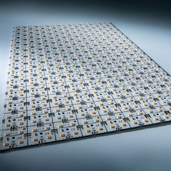Nichia LED Módulo de luz de fondo Matrix Mini 126 segmentos (9x14) 504 LED 24V Blanco 2700K 60.5W 8610lm