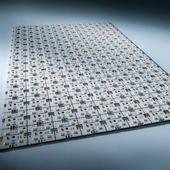 Nichia LED Módulo de luz de fondo Matrix Mini 126 segmentos (9x14) 504 LED 24V Blanco 3000K 60.5W 9040lm