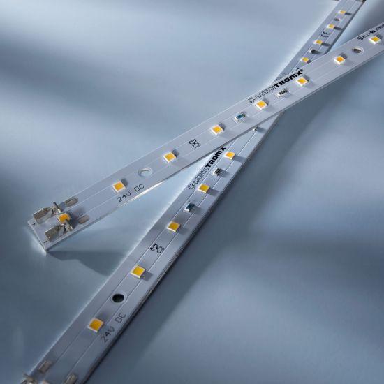 Maxline 14 Nichia Tira LED blanco cálido 3000K 810lm 24V 14 LED módulo de 28cm (2893lm/m 30W/m)