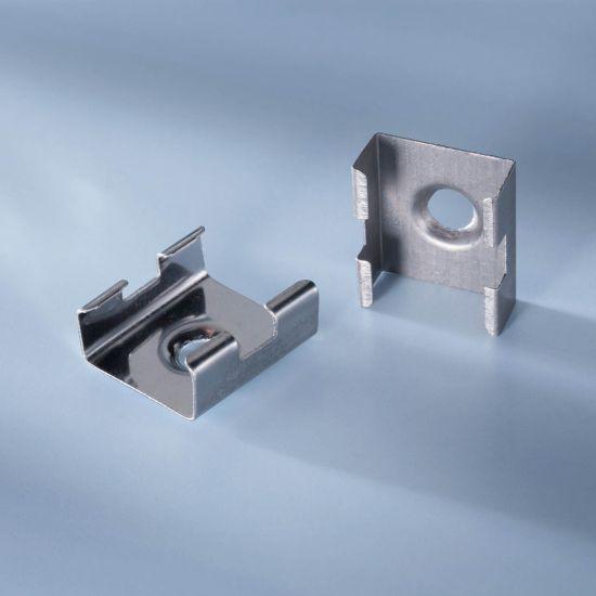 Clip de montaje para todos los perfiles de aluminio Aluflex para tiras LED