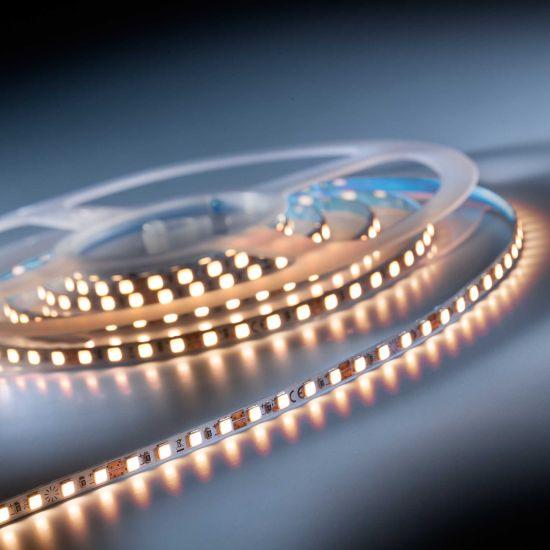 SlimFlex 240 Pro Nichia Tira LED blanco cálido CRI90 2700K 3900lm 24V 120 LED/m carrete de 2m (1950lm/m 19W/m)