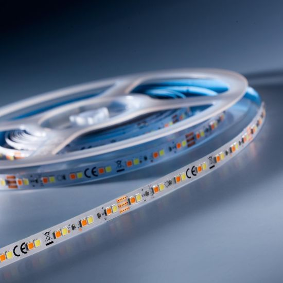 LumiFlex 700 Nichia Tira LED Flexibile TW 2000-6500K 6980lm 24V 140 LED/m carrete de 5m (2270lm/m y 9.6W/m)