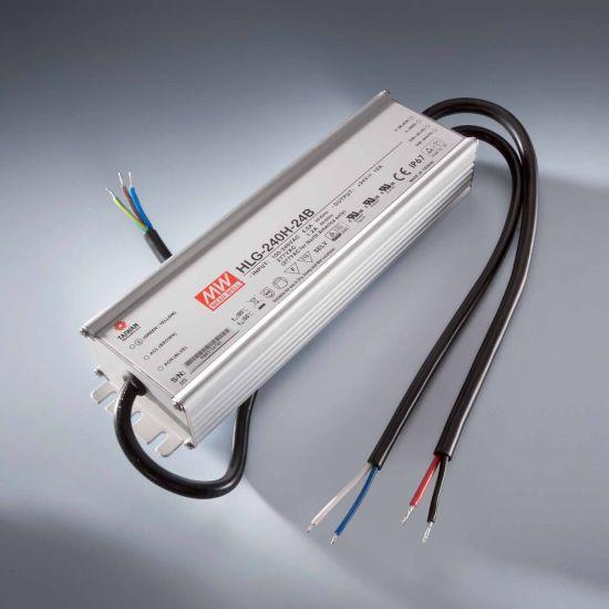 MEAN WELL transformador de tensión constante HLG-240H-24B IP67 230V a 24V 10A 240W DIM