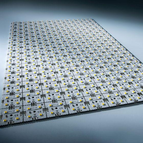 Nichia LED Módulo de luz de fondo Matrix Mini 126 segmentos (9x14) 504 LED 24V Blanco 4000K 60.5W 9500lm