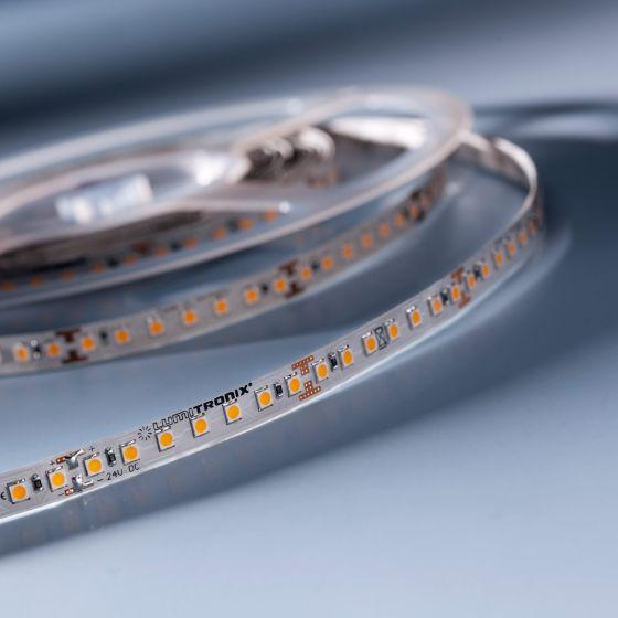 LumiFlex 70 Nichia Tira LED Flexibile blanco cálido 2700K 2440lm 24V 140 LED/m precio por 50cm (2440lm/m 19.2W/m)