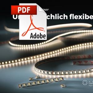 Catálogo de Tiras LED flexibles Nichia