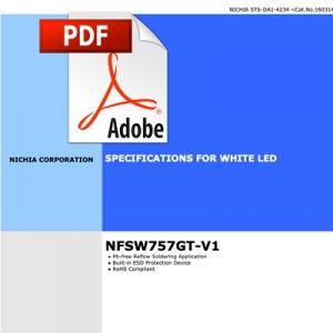 Nichia LED Hoja de datos técnicos