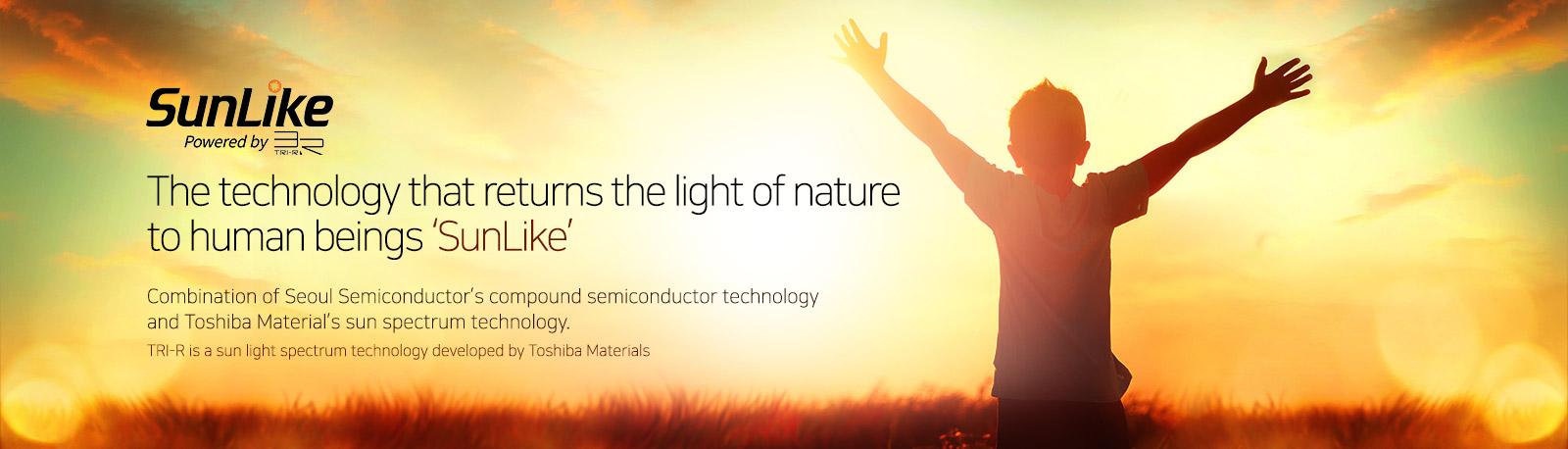 Tecnología LED SunLike de Seúl Semiconductor y Toshiba