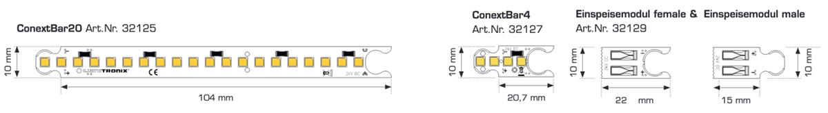 Módulo LED ConextBar Blanco Cálido CRI90