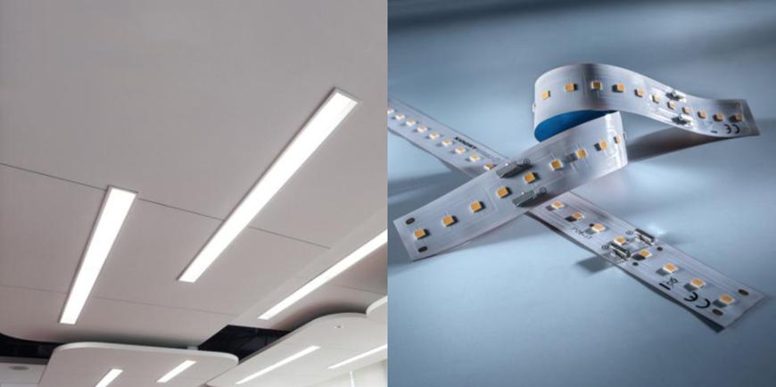 Tira LED profesional Z-Flex 540 de Seúl, hasta 5300 lm por metro
