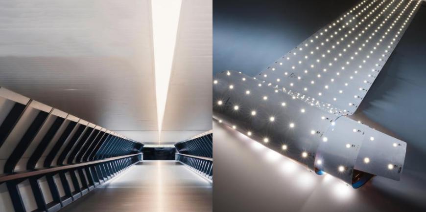 Tira LED profesional Z-Flex 980 de Seúl, hasta 6200 lm por metro