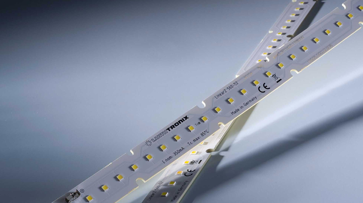 Nichia 757 Optisolis tiras LED: LinearZ con CRI98 + y salida de luz de hasta 2600 lm / m