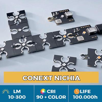 Módulos LED Conext profesionales, Click & Play para libertad de forma y color
