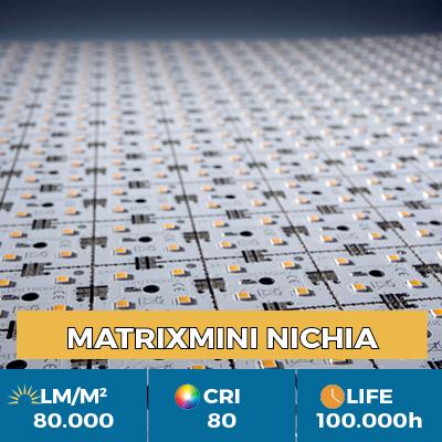 Módulo profesional MiniMatrix LED Nichia, hasta 80.000 lm / metro cuadrado