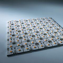Nichia LED Módulo de luz de fondo Matrix Mini 25 segmentos (5x5) 100 LED 24V Blanco 2700K 12W 1700lm
