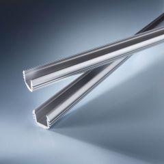Perfil de aluminio Aluflex redondo para tiras LED flexibles 102cm