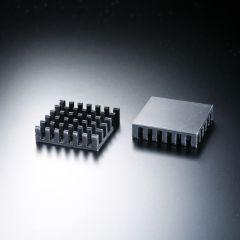 Disipador térmico cuadrado 23x23mm para un LED de alta potencia máx. 1 vatio