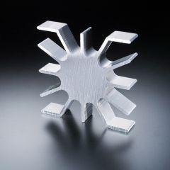 Disipador térmico 51 x 51 para LED de alta potencia máx. 3 vatios