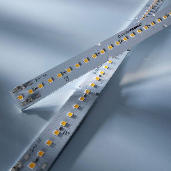 Maxline 35 Nichia Tira LED blanco cálido 3000K 1040lm 24V 35 LED módulo 28cm (3715lm/m 30W/m)