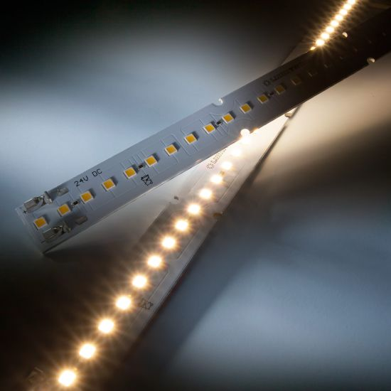 Maxline 35 Nichia Tira LED neutro blanco 4000K 1090lm 350mA 35 LED módulo 28cm (3893lm/m 25W/m)