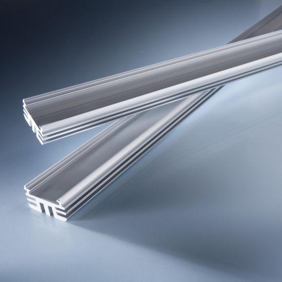 Perfil de aluminio Alumax 60cm para tiras LED de alta potencia