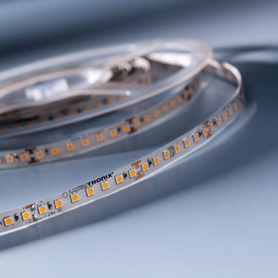 LumiFlex 70 Nichia Tira LED Flexibile neutro blanco 4000K 24V 2656lm 140 LED/m precio por 50cm (2656lm/m 19.2W/m)