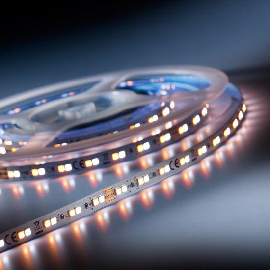 LumiFlex 700 Nichia Tira LED Flexibile TW 2000-6500K 6980lm 24V 140 LED/m carrete de 5m (2270lm/m y 9.6W/m)