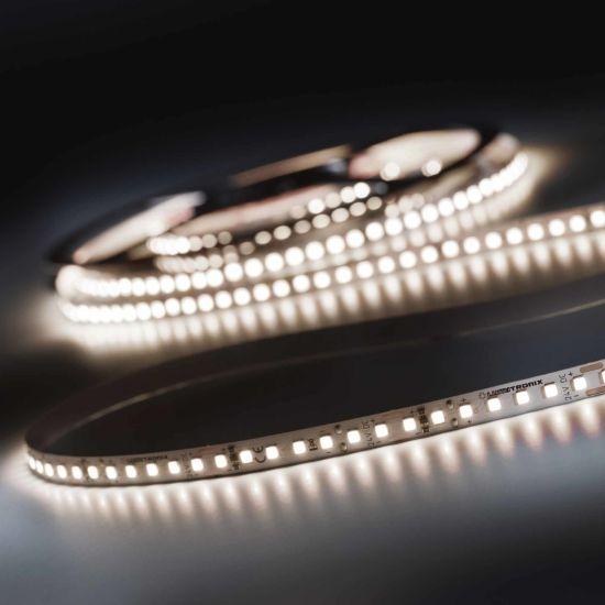 LumiFlex 700 Pro Nichia Tira LED Flexibile neutro blanco CRI90 4000K 12150lm 24V 140 LED/m carrete de 5m (2430lm/m 19.2W/m)