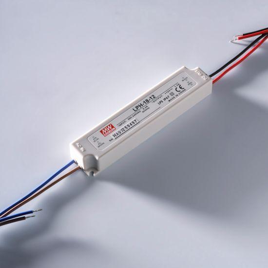 MEAN WELL transformador de tensión constante LPV-60-24 IP67 230V to 24V 2.5A 60W