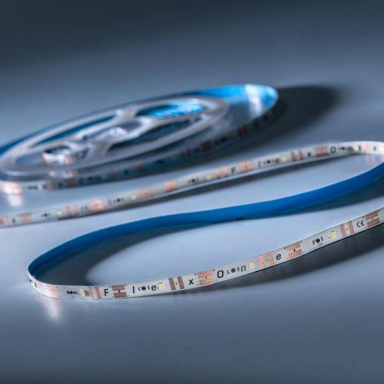 FlexOne 100 Samsung Tira LED Flexibile blanco cálido 2700K 6090lm 12V 20 LED/m carrete de 5m (1218lm/m 16.8W/m)
