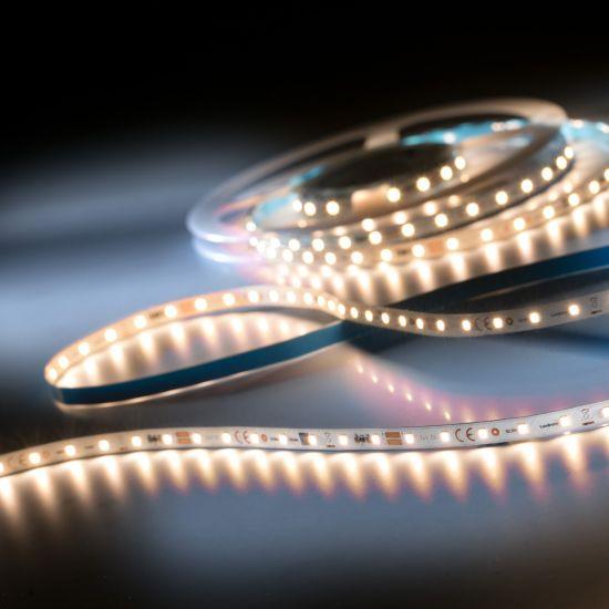 LumiFlex350 Pro Samsung Tira LED blanco cálido CRI80 2700K 6500lm 24V 70 LED/m carrete de 5m (1300lm/m 12.6W/m)