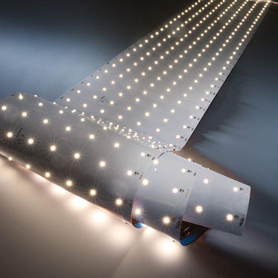 Z-Flex980 Pro Seoul Tira LED Flexibile blanco cálido 3000K 32400lm 175 LEDs/m carrete de 5.6m x 28cm 24V (5785lm/m 39W/m)