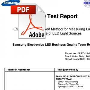 Prueba de por vida de Samsung: 10.000 horas