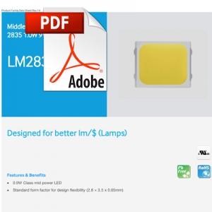 Ficha técnica de Samsung LED