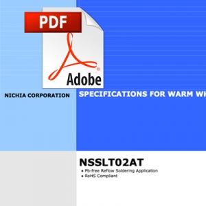 Nichia T02 180 grados LED datasheet