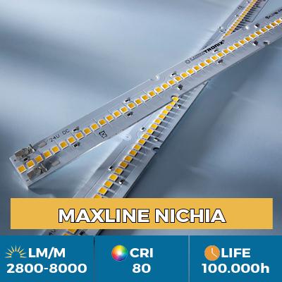 Tiras LED profesionales Maxline, Plug & Play, flujo luminoso hasta 8000 lm / m