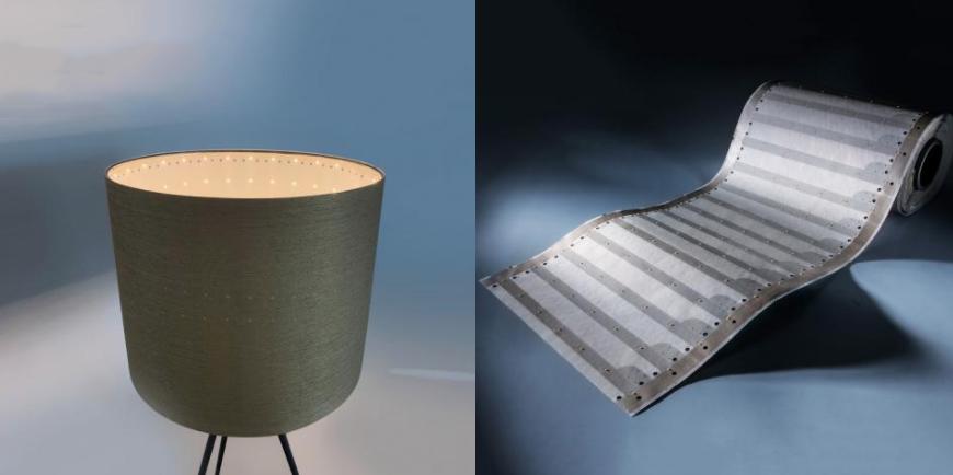 Tiras LED profesionales Paper-Flex Osram con 35 cm de ancho y 3300 lm por metro cuadrado. Puedes iluminar 9 metros cuadrados de una vez!