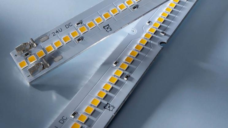Tiras LED Nichia 757: Maxline con una potencia luminosa de hasta 8000 lm/m