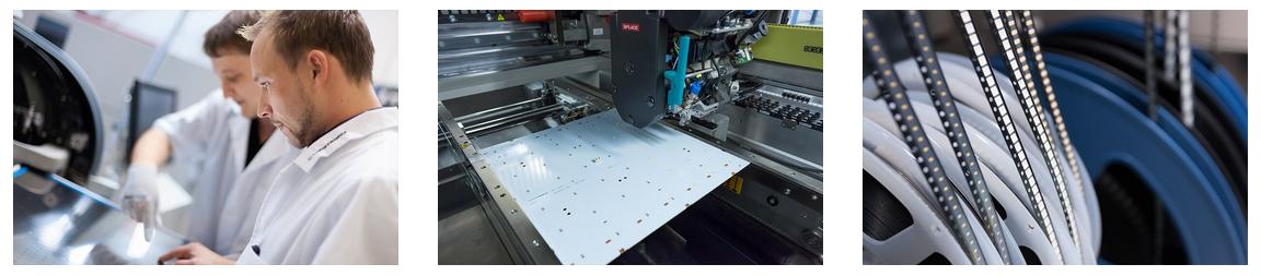 Nichia producción de módulos LED