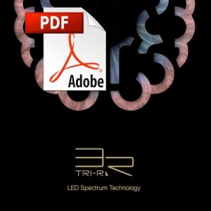 Catálogo de tecnología LED TRI-R de Toshiba
